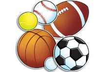 sports equipment clippart