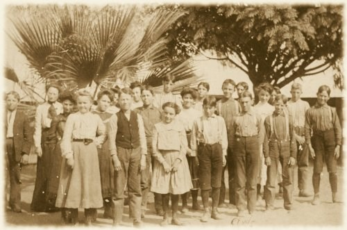 Students in 1903
